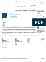 The SAGE Handbook of Qualitative Data Analysis | SAGE Publications Inc
