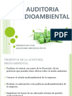 AUDITORIA MEDIOAMBIENTAL