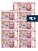 Billetes 50 Pesos