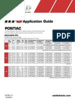 Pontiac RT S δφγδφγδApplication Guide