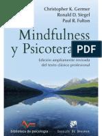 Ronal Siegel Meditación psicología