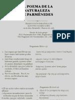 Poema Parmenides