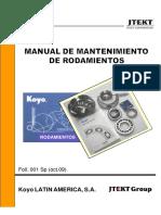 Manual de Mantenimiento de Rodamientos