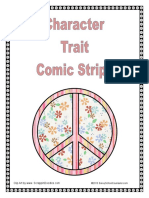 Character Trait Comic Strips Cover