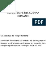 Los Sistemas Del Cuerpo Humano (2)