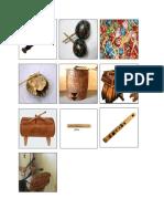 instrumentos autoctonos
