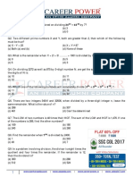 Free PDF 30 Questions on Number System