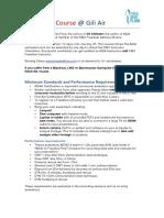 Freedive Flow AIDA Instructor Course Information Update Dec2017