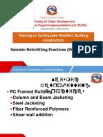8.4 Seismic Retrofitting Practices