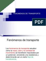 1ra Clase Fenomenos de Transporte Introduccion
