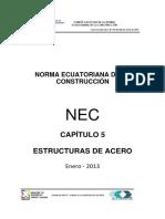 Nec Cap5 Acero NEC 2013