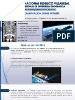 Clasificacion de Satelites