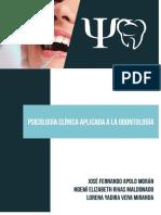 Psicología Clínica aplicada a la odontología