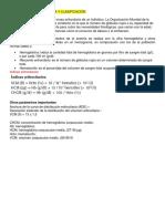 5.Anemia- Concepto Clínica y Clasificación