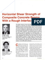 JL-94-January-February Horizontal Shear Strength of Composite Concrete Beams With a Rough Interface
