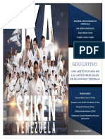 Proyecto Socio Educativo Karate