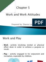 Chp 5 Work and Work Attitudes