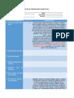 Ficha de Observación Conductual - Modelo