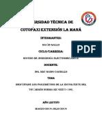 UniversidadTécnica de Cotopaxi Extensión La Maná
