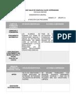Modelo de Formato de Diagnostico 2 Secu