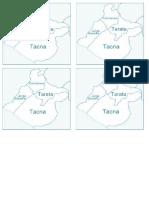 Mapa Tacna