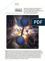 Steele Et Al. - 2017 - High-Pressure Synthesis of a Pentazolate Salt - Chemistry of Materials