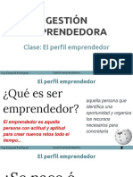 Clase 1 Perfil Emprendedor