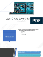 Layer 2 and Layer 3 Multicast Addressing
