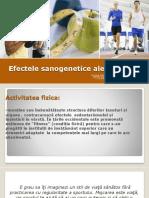 1 Efectele Sanogenetice Ale Sportului