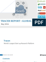 Tracxn Startup Research Global SaaS India Landscape May 2016 1