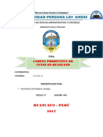 Cadena Productiva de Cuyes en Huancayo