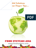 Food Systems ASIA - Brochure