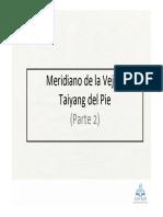 Meridiano de La Vejiga Taiyang Del Pie 2012 Parte 2