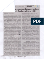 Philippine Star, June 6, 2019, Romualdez open to pursuing shelved federalism bill.pdf