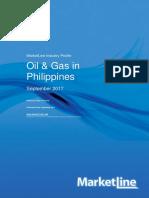 Marketline Report - Oil & Gas in the Philippines 2017