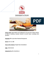 Opportunities of Cheese Market in INDIA - By Megha Paranjpe