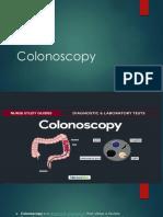 Colonoscopy EGD