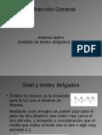 Refgral 06_1 Lentes Delgados Analisis