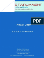 Science and Tech 2018 - 2019_Target
