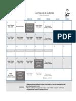 Calendario Febrero 2019, Cng