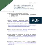 Bibliografia Transparencia en La Rendicion de Cuentas 3