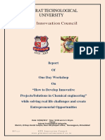 "Report on How to Develop Innovative ProjectsSolutions in Chemical engineering"" while solving real life challenges and create Entrepreneurial Opportunities.pdf"