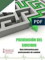 Guía Suicidio Ámbito Sanitario