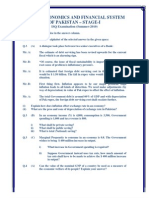 Macro Economics and Financial System of Pakistan