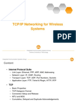TCP IP Networking for Wireless Systems