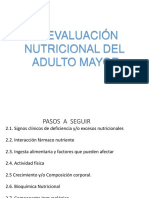 Evaluacion Del Adulto Mayor