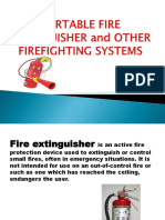 Portable Fire Extinguisher and Other Firefighting Systems