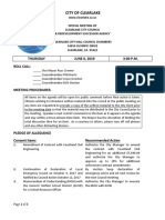 060619 Clearlake City Council special meeting agenda packet