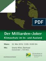 Der Milliarden-Joker Klimaschutz im In- und Ausland