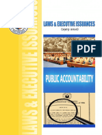 LAWS & EXECUTIVE ISSUANCES
